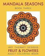 Mandala Seasons 3 af Maya Necalli, Art Therapy Designs