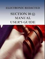 Electronic Redacted Section 10(j) Manual