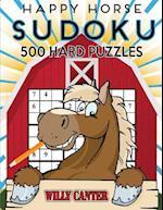Happy Horse Sudoku 500 Hard Puzzles