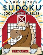 Happy Horse Sudoku 500 Extra Hard Puzzles af Willy Canter
