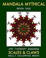 Mandala Mythical af Maya Necalli, Art Therapy Designs