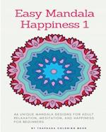 Easy Mandala Happiness
