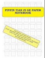Pinyin Tian Zi GE Paper Notebook