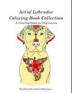 Art of Labrador Coloring Book Collection
