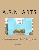 Captivating County Fair Coloring Book