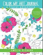 Adult Coloring Book- Color My Art Journal af Amelia Richard