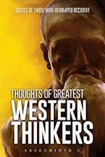 Thoughts of Greatest Western Thinkers