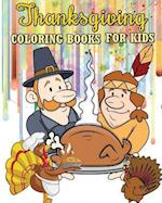 Thanksgiving Coloring Books for Kids af Aubrey Brooklyn