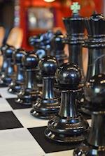Black Chess Pieces Game Journal