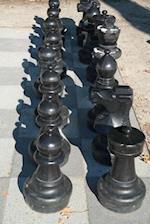 Outdoor Chess Match Game Journal