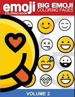Emoji Coloring Book Big Emoji Coloring Pages Vol. 2