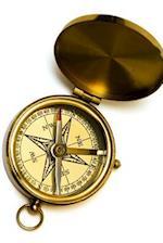 An Antique Compass Made of Gold