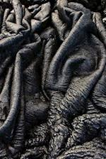 Blackened Lava Flow in Hawaii