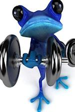 Blue Frog Working Out
