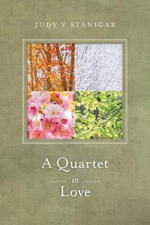 Bog, paperback A Quartet in Love af Judy V. Stanigar