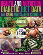 Health & Nutrition, Diabetic Diet Data, Fat, Carb & Calorie Counter