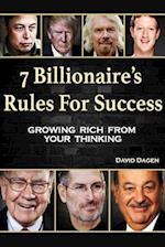 7 Billionaire's Rules for Success