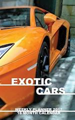 Exotic Cars Weekly Planner 2017