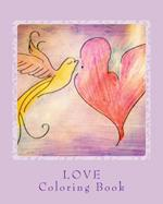 Love - Coloring Book