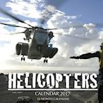 Helicopters Calendar 2017
