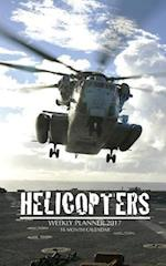 Helicopters Weekly Planner 2017