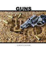 Guns Pocket Monthly Planner 2017