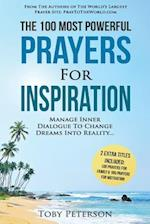 Prayer the 100 Most Powerful Prayers for Inspiration 2 Amazing Bonus Books to Pray for Family & Motivation