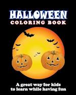 Halloween Coloring Book - Vol.1