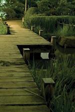 Garden Pond Walkway Notebook