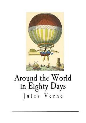 Bog, paperback Around the World in Eighty Days af Jules Verne