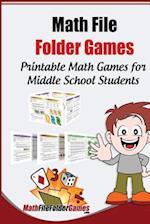 Math File Folder Games