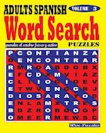 Adults Spanish Word Search Puzzles. Vol. 3