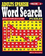 Adults Spanish Word Search Puzzles. Vol. 4