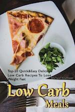 Low Carb Meals af Micheal Kindman