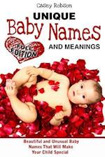 Unique Baby Names and Meanings