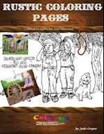 Coloring Rustic Pages