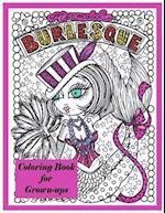 Burlesque Mermaids Coloring Book