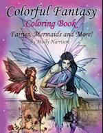 Colorful Fantasy Coloring Book