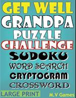 Get Well Grandpa Puzzle Challenge