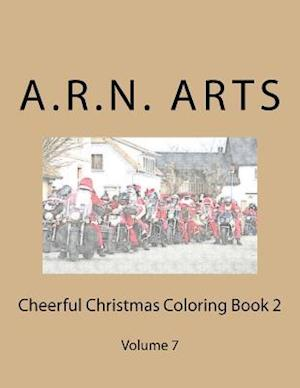 Bog, paperback Cheerful Christmas Coloring Book 2 af A. R. N. Arts