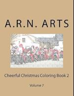 Cheerful Christmas Coloring Book 2