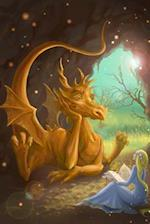 A Dragon Listening to a Princess Reading a Book Journal
