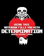 Undertale Notebook & Journal