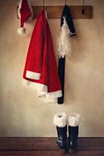 Santa Suit and Boots on a Coat Rack Journal