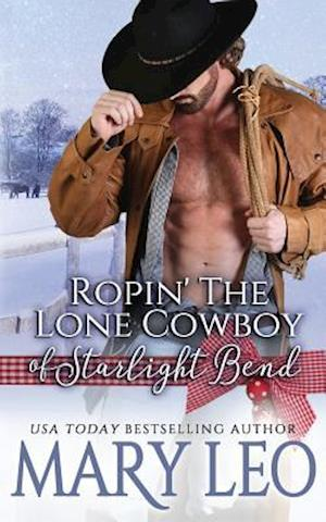 Bog, paperback Ropin' the Lone Cowboy of Starlight Bend af Mary Leo