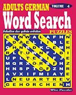 Adults German Word Search Puzzles. Vol. 4