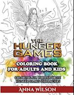 The Hunger Games Coloring Book for Adults and Kids