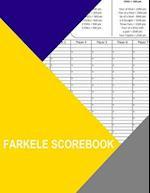 Farkle Scorebook
