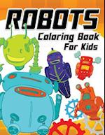 Robot Coloring Book for Kids Vol.1
