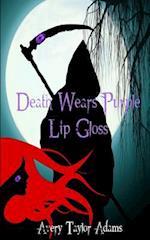 Death Wears Purple Lip Gloss